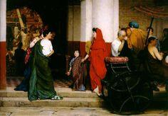 Entrance to a Roman Theatre by Lawrence Alma-Tadema