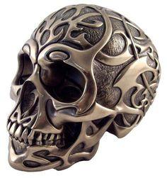 Gallery Gen X Tattoo Designs: Tribal Skull Tattoo Designs Skull Tattoo Design, Skull Design, Tattoo Designs, Skull Tattoos, Crane, Totenkopf Tattoos, Heavy Metal Art, Skulls And Roses, Skull Art