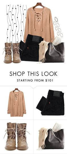 """Untitled #56"" by explorer-14546802142 ❤ liked on Polyvore featuring Levi's and Akira"