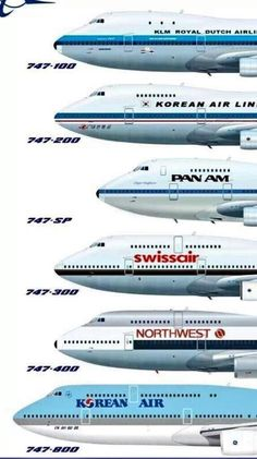 747 Family Aircraft