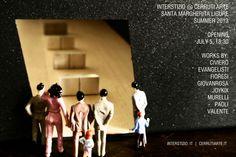 Invitation to the Cerruti Arte show. in Santa Margherita Ligure. Summer 2013