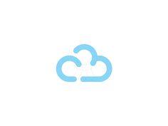 CB Cloud Logo Design