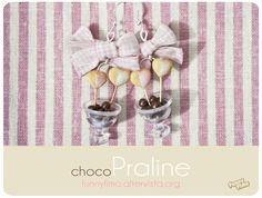 ChocoPraline earrings, so sweet! ^_^