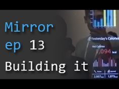 Smart Mirror ep 13 - Building and mounting on the wall - YouTube