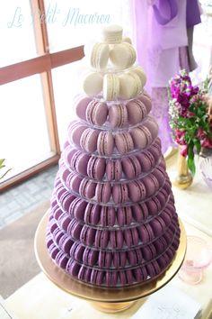 Ombre macaron tower www.facebook.com/au.lepetitmacaron