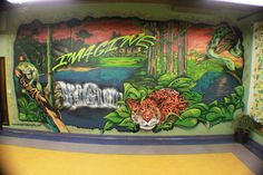 jungle mural by camer1, fasm, amp1 and j. werley