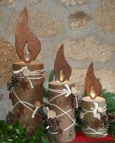 edelrost flame | Copyright © 1995-2016 eBay Inc. Alle Rechte vorbehalten. eBay-AGB ... Prim Christmas, Christmas Holidays, Christmas Wreaths, Christmas Crafts, Fall Crafts, Decor Crafts, Wood Crafts, Diy Crafts, Winfield Collection
