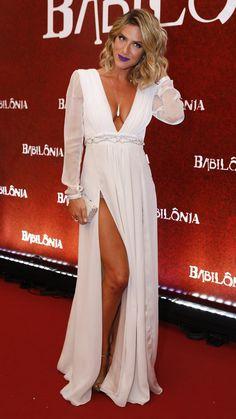 Giovanna Ewbank, white dress