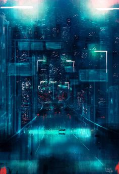 Metropolis by Pascal Campion - Illustriations by Pascal Campion  <3 <3