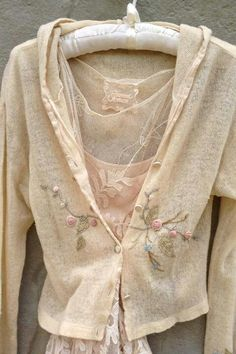 I love vintage styles and embroidery. My closet severely lacks this though.
