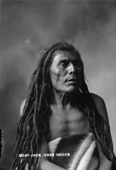 Baby Jack Cree 1900 Dreadlocks Too Cool I Native American