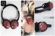Inspired from Klimt, the mesmerizing spirals with the best color combination of golden and red. Minimalistic work to enhance the spirals. This one is sure shot one attractive pair of Hand Painted Headphones. Also the gold spray effect over the head band giving a continuous effect makes it a fine piece of art. CHECK OUT THE COMPLETE PROJECT HERE : https://www.behance.net/gallery/29033873/Klimt-Inspired-Artwork