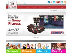 Positive Gaming is the leading developer of quality machine dance solutions based in the Netherlands, run by the creators of the iDANCE multiplayer system and iSTEP multiplayer system.As a vital part of their plan for global expansion and promotion of their products on the global market, Positive Gaming needed a makeover of their online presence, a new website and marketing strategy.