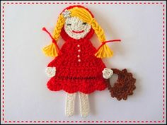 Rotkäppchen 14cm  Little Red Riding Hood