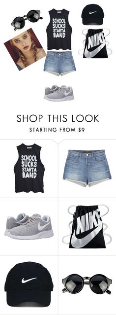 """""""Lets rock"""" by elma-elma-di ❤ liked on Polyvore featuring High Heels Suicide, J Brand, NIKE and Nike Golf"""
