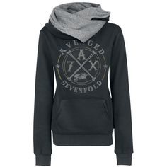 A7X - Girls hooded sweatshirt by Avenged Sevenfold - Article Number: 268348 - from 53.99 € - EMP Merchandising ::: The Heavy Metal Mailorder...