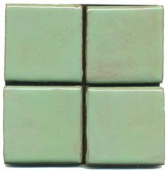 Opaque minty green