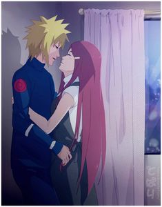 they are my favorite couple of Naruto: 3 x Namikaze Minato & Uzumaki Kushina (C. Minato x Kushina: Kiss in the night Anime Naruto, Naruto Shippuden Sasuke, Minato Kushina, Naruto And Hinata, Naruto Art, Anime Manga, Uzumaki Family, Naruto Family, Naruto Couples