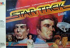 Star Trek Board Game 1979 Milton Bradley Complete Kirk Spock on Cover Star Trek Board Game, Star Trek Games, Film Star Trek, Star Trek Tos, Old Games, News Games, Retro Toys, Vintage Toys, Nbc Tv