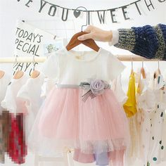 Newborn Baby Girl Dress for Girl 1 Year Birthday Cute Princess Toddler Dresses Baby Summer Dresses, Baby Girl Party Dresses, Baby Dress, Girls Dresses, Summer Baby, Newborn Girl Dresses, Baby Tutu, Cute Princess, Baby Girl Princess
