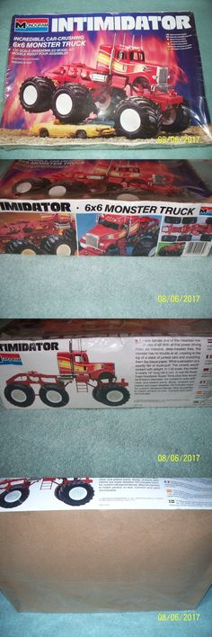 Truck 2584: Monogram 1:32 Freightliner Conventional Intimidator 6X6 Monster Truck, Sealed -> BUY IT NOW ONLY: $85 on eBay!