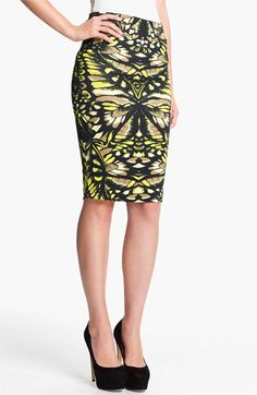 McQ by Alexander McQueen Print Skirt available at #Nordstrom