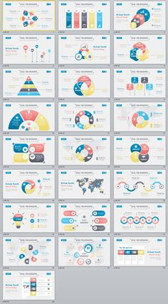 25+ multicolor social infographics PowerPoint templates on Behance #powerpoint #templates #presentation #animation #backgrounds #pptwork.com #annual #report #business #company #design #creative #slide #infographic #chart #themes #ppt #pptx #slideshow