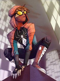 Spider Man by helloshellhead.tumblr.com