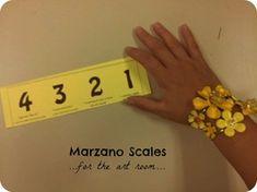 Marzano scales...bookmark