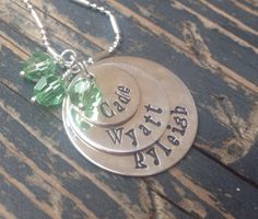 3 Layer Sterling Silver Necklace by HappyGirlJewels on Etsy, $68.00