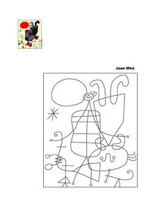"Search results for ""miro kids"" Drawing For Kids, Art For Kids, Joan Miro Paintings, 6th Grade Art, Spanish Art, Ecole Art, Elements Of Art, Preschool Art, Teaching Art"