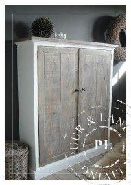 Maatwerk! Landelijk tv meubel / flatscreenmeubel old wood ~Vulcano~ Furniture, House, Interior, Cabinet, Deco, Home Decor, Inspiration, Storage, Armoire