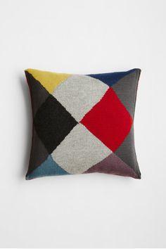 Square Cushion - Diamond Knit