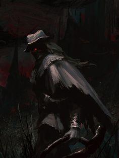 ArtStation - The old hunter, Zhuoxin Ye