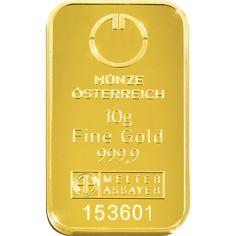 #Goldbar by #Austrian #Mint