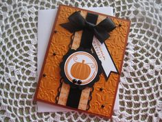 Stampin' Up/PaperTrey Ink Handmade Greeting Card: Autumn Harvest (All Occasion/Fall Themed) on Etsy, $3.75