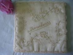 French Lace Hankie Handkerchief Mouchoirs Vintage by Emmetswyfe, $28.00