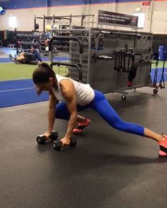 """6,371 Likes, 135 Comments - Alexia Clark (@alexia_clark) on Instagram: """"Straight bar movements! Exercise 1: 15 reps Exercise 2: 15 reps each side Exercise 3: 20 reps…"""""""