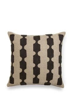 Freya Cushion in Charcoal (100% Linen) from Country Road
