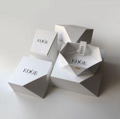 EDGE — Jewelry packaging | The Dieline - Branding & Packaging Design