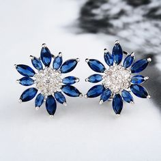 Beautiful #Stud #Earring, very popular, I like, and have more colors for choice  http://www.beads.us/product/Brass-Stud-Earring_p233302.html?Utm_rid=194581