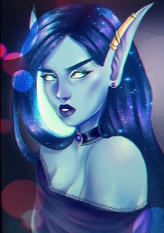 ArtStation - Void Elf, Kira Ihlein
