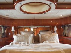 Samara interior, the 82 ft 2006 Sunseeker Yacht available for sale.
