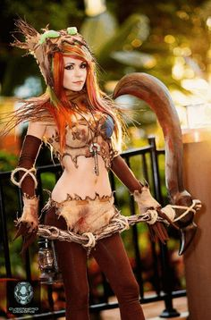 Fiddlesticks cosplay from LoL par Danielle Beaulieu via kamikame-cosplay