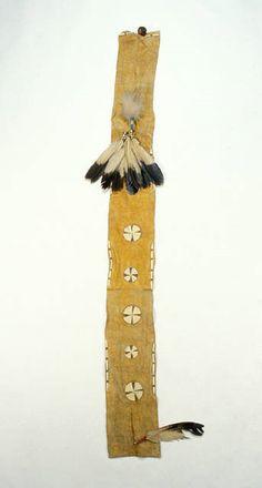 No-retreat sash, Arapaho Dog Lodge, NMNH