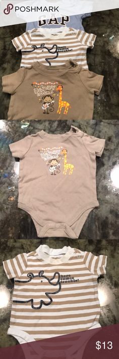 Onesies Bundle of 3 Circo & Gap brands size 3M Onesies Bundle of 3 Circo & Gap brands size 3 months. Condition as shown in pictures. Sold as a set of 3. GAP One Pieces Bodysuits