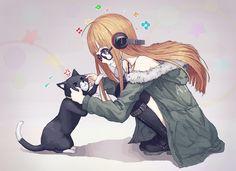 Artist: Artist: papaia | Shin Megami Tensei: Persona 5 | Morgana | Sakura Futaba