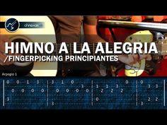 Cómo tocar HIMNO A LA ALEGRIA en Guitarra (HD) Tutorial Arpegios - Christianvib - YouTube