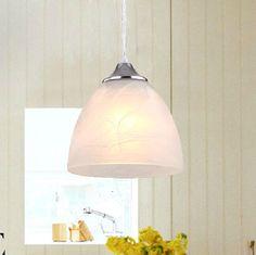 Modern White Ceiling Pendant Light Lamp Shade Lampshade Silver Chrome
