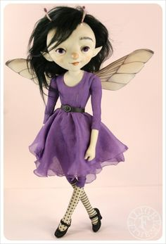 Lestes ~ DamselFly Doll by the Filigree